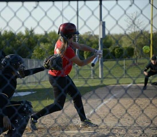 Despite some struggles at the plate this past spring, Lincoln-Way Central softball player Ashley Evans always remained positive.
