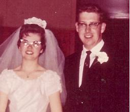 Mr. and Mrs. Veenstra 1963