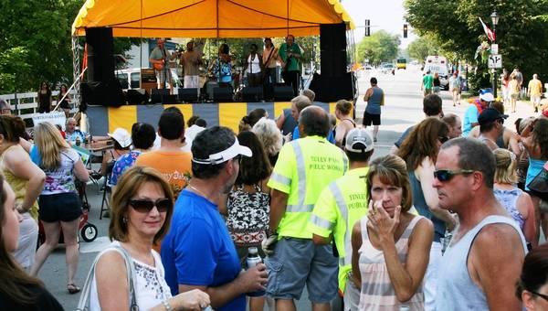 Residents enjoy themselves at last year's Caribbean Block Party in Tinley Park. This year's party is from noon to 7 p.m. July 21 along Oak Park Avenue from 171st to Hickory streets.