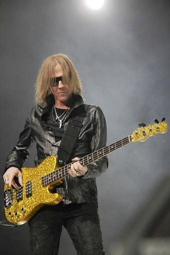 Tom Hamilton and Aerosmith will be at MGM Grand at Foxwoods on July 10.