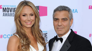 George Clooney, Stacy Keibler reportedly split up — or not yet?