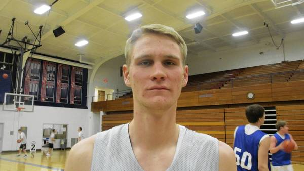 Senior Gordon Behr is a Division I prospect according to Wheaton Academy Coach Pete Froedden