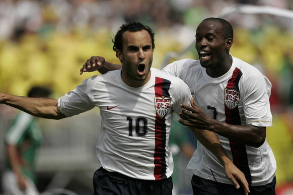 "<p>Remember a few years ago, when <a class=""runtimeTopic"" href=""#"" data-topic-id=""PESPT001886"">Landon Donovan</a>'s last-second goal versus Algeria in the Wold Cup actually had people caring about the other ""futbol"" for a while? That was fun! While the <a class=""runtimeTopic"" href=""#"" data-topic-id=""15073018"">World Cup</a> is not until 2014, the CONCACAF Gold Cup acts as a primer this year, one the United States has a chance to win. The boys in red, white and blue are riding a five-match win streak heading int"