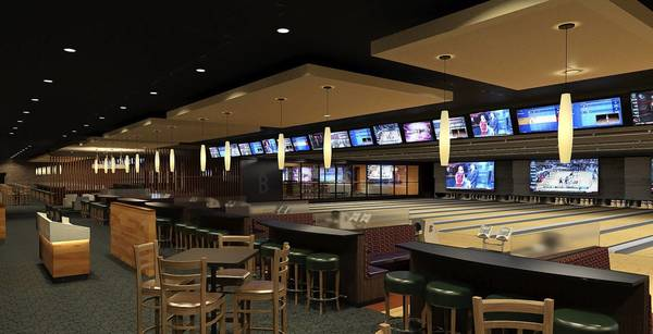 Brunswick's is scheduled to open in the Buffalo Grove Town Center this fall with a completely renovated interior with upgraded bowling equipment, new scoring monitors and down-lane screens and comfortable sofa seating.