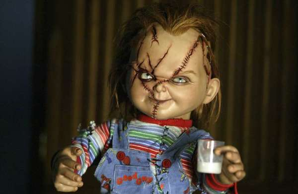 "The murderous doll Chucky, seen in 2004's ""Seed of Chucky,"" is back to his evil ways in the new ""Curse of Chucky."""