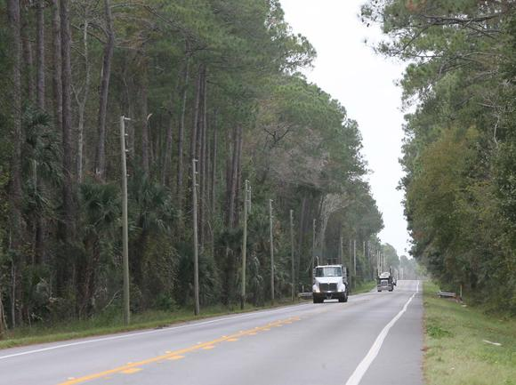 S.R. 40 through the Ocala National Forest