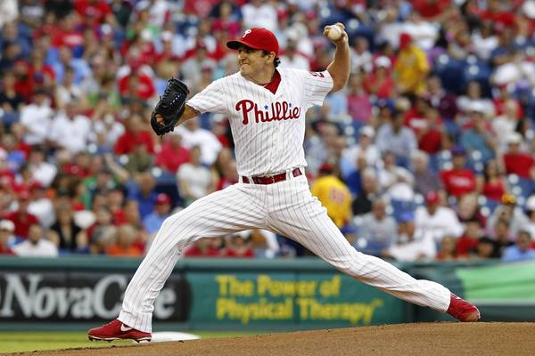 Phillies starting pitcher John Lannan shut down his former team in the win over Washington Monday night.