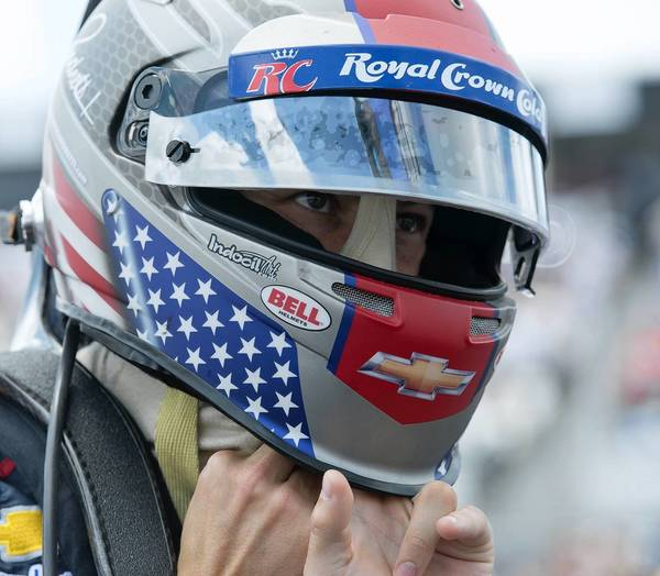 Marco Andretti and the rest of the Andretti Autosport team had a disappointing day at Pocono Raceway in Long Pond on Sunday.