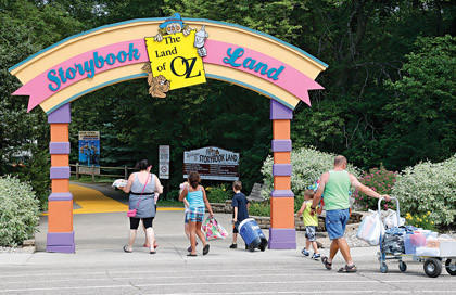 Storybook Land has plenty of recreational opportunities, but more might be coming, including the idea of a sprayground  a play area that has water features for visitors to cool down with  that was offered at a meeting on Monday.