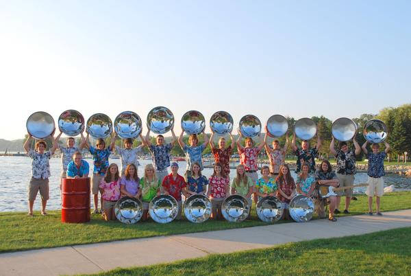 The Petoskey Steel Drum Band will perform at 7 p.m. Thursday, July 11, in East Park, downtown Charlevoix.