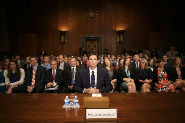 James Comey Jr. confirmation hearing