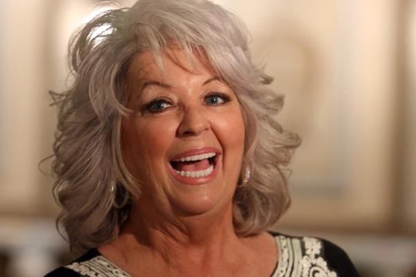 Celebrity chef Paula Deen at Harrah's Joliet Casino & Hotel on April 4, 2012 in Joliet.