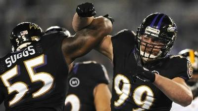 Ravens look to get on plus side of sack differential
