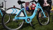 Divvy bikes in Chicago