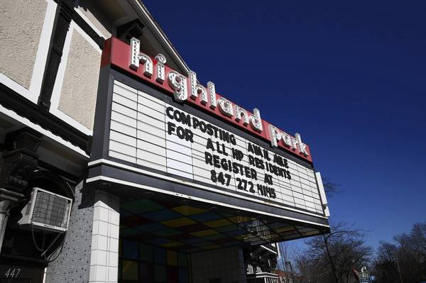 The Highland Park Theater in Highland Park, Thursday, January 16, 2013. The city-owned building was closed in May 2012 due to building code violations.