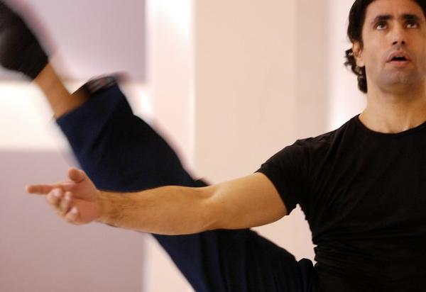 Dancer Israel Rodriguez.