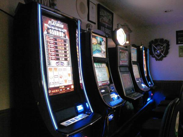 Plainfield's Village Board Monday batted around the idea of legalizing video gambling machines in town, similar to these found in the American Legion post just outside town limits. Most board members said they could not support such a law change.