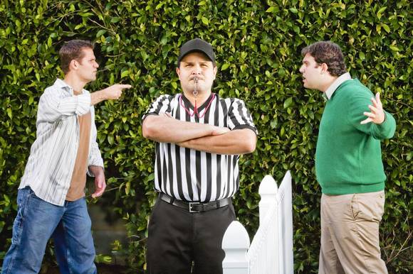 Refereeing your friends