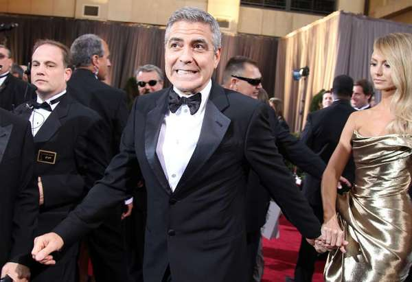 George Clooney is this year's winner of BAFTA Los Angeles' Stanley Kubrick Britannia Award. He will be honored Nov. 9 at the Beverly Hilton Hotel.