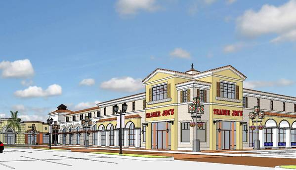 Rendering of the Trader Joe's planned for Lakeside at Winter Park, at Orlando Avenue and Morse Boulevard.