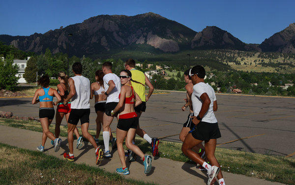 Colorado runners