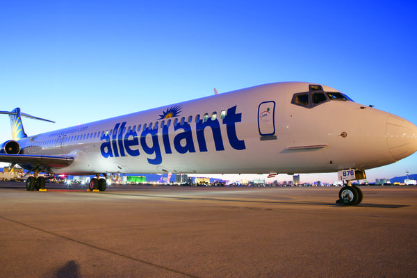 Allegiant Air plans to start LAX-Honolulu service in October.