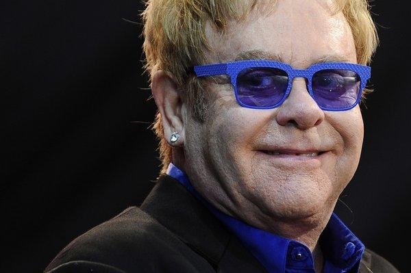 Elton John has appendicitis