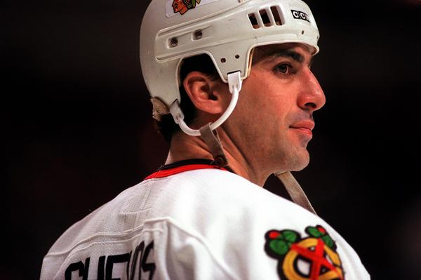 Former Blackhawks captain Chris Chelios was elected into the hockey Hall of Fame.
