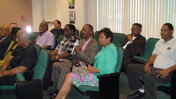 Broward County pastors meet with Broward Sheriff Scott Israel to prepare for whatever happens after the verdict is read in the George Zimmerman trial.