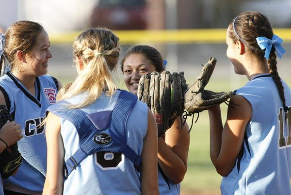 The Burbank-Crescenta Valley-Foothill Junior All-Star softball won the District 16 championship with a pair of 18-0 wins over Tujunga. It wrapped up the title Tuesday.