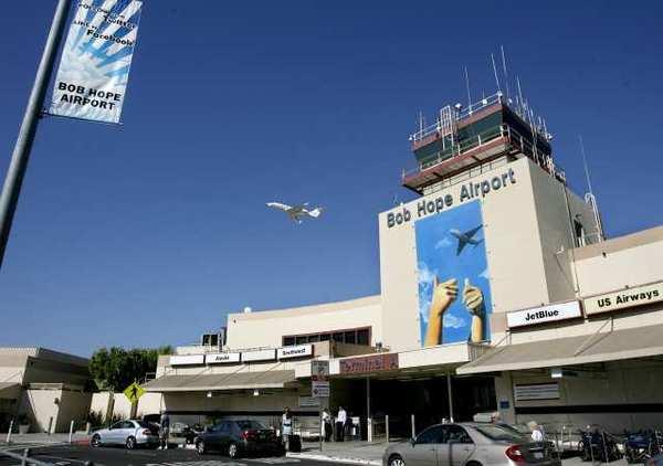 Bob Hope Airport terminal.