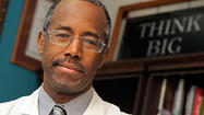 Dr. Ben Carson launches weekly Washington Times column, attacks 'PC police'