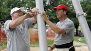 Nation's principals build playground for Baltimore school