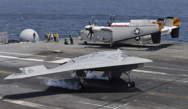Drone landing