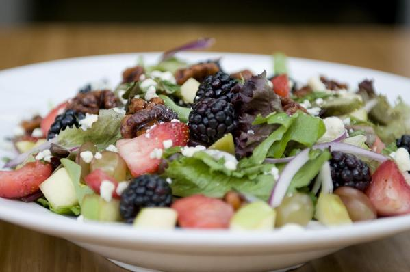 Antioxidant Orchard salad at Greenleaf Gourmet Chopshop.