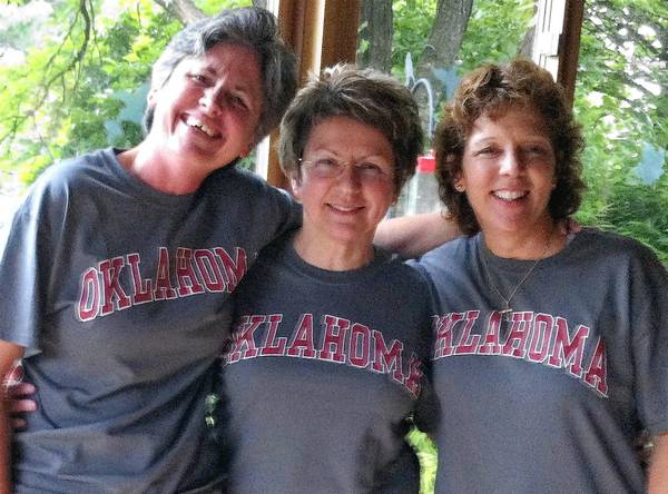 Three Lehigh Valley women went to Oklahoma after the F5 tornado in Moore to rescue animals and reunite them with their owners. They are from left to right: Maureen Keenan, Donna Lagomarsino and Anita Patterson