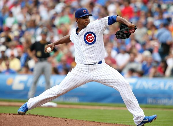 Edwin Jackson will open the series for the Cubs.