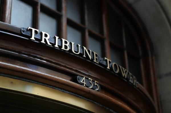 Tribune Tower will remain with Tribune Co. after it spins off its publishing business, a detailed plan for which is expected to be developed in the next nine to 12 months.