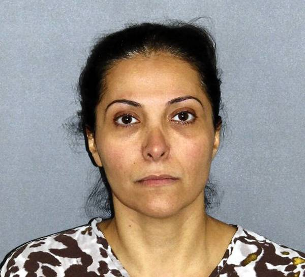 Meshael Alayban, 42, was taken into custody early Wednesday by Irvine police. She was being held on $5-million bail.