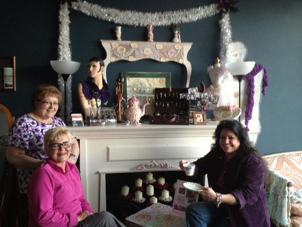 The Shacky Chic Boutique features items made by women who own their own businesses.