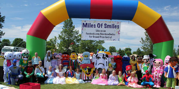 About 20,000 people have attended the first five years of Miles of Smiles.