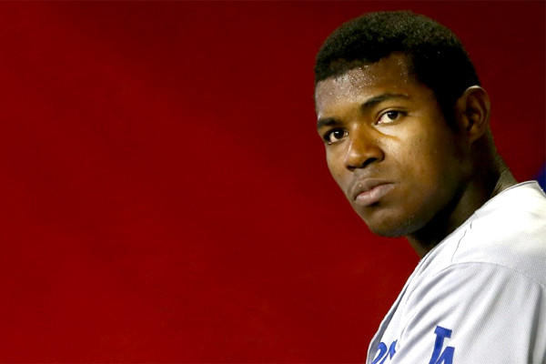 Yasiel Puig has playing inspired baseball since his major league debut, hitting .397 with eight home runs and 19 RBI, but is he becoming a villain?
