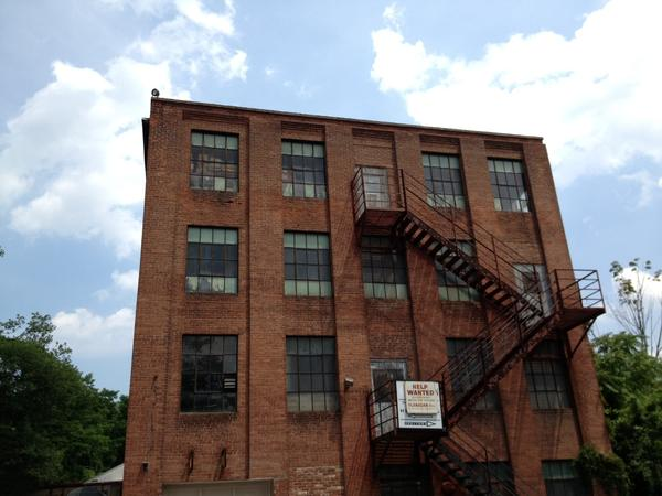 The former Flanagan's industrial building is slated for a mixed-use development.