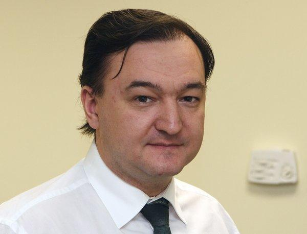 Russian lawyer Sergei Magnitsky is shown in a 2006 photo in Moscow.