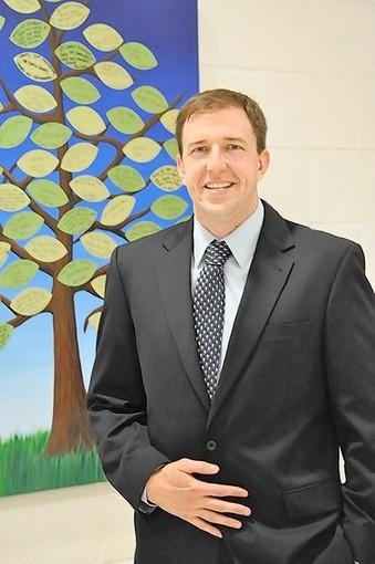 Justin Horne is the new principal of Monroe Elementary School.