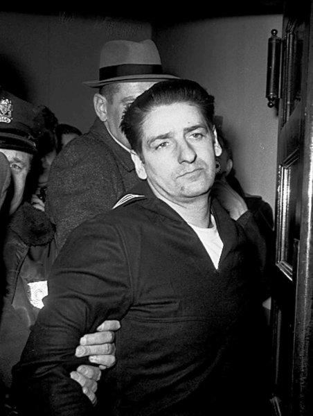 Albert DeSalvo is arrested in February 1967 but was never convicted. He confessed to being the Boston Strangler, then later retracted his statement.