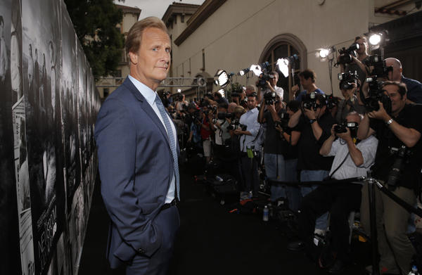 Jeff Daniels at 'The Newsroom' season 2 premiere screening