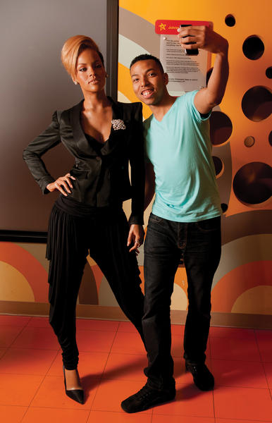 Wax likenessess of celebrities such as Rihanna can be seen at Madame Tussauds Washington, D.C.