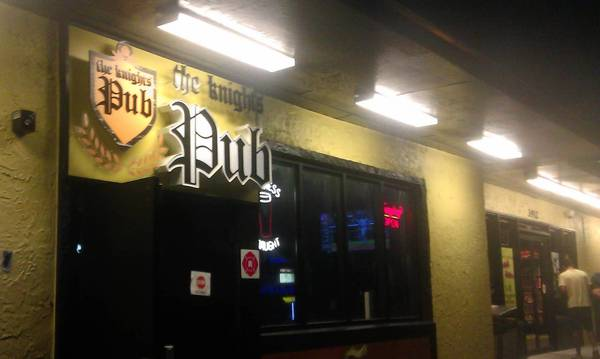 School's out and prices are low at The Knight's Pub near the University of Central Florida.