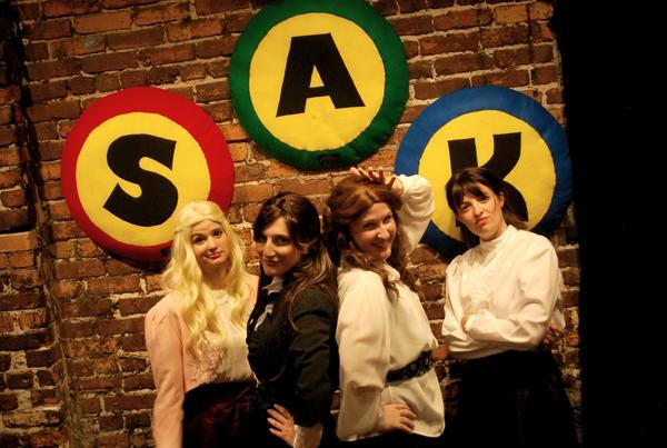 "The ladies of ""Li'l Women: The Rap Musical"" take their show to SAK Comedy Lab for a night."